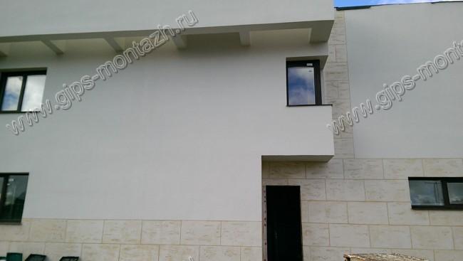 Фасады штукатурка и утепление частного дома